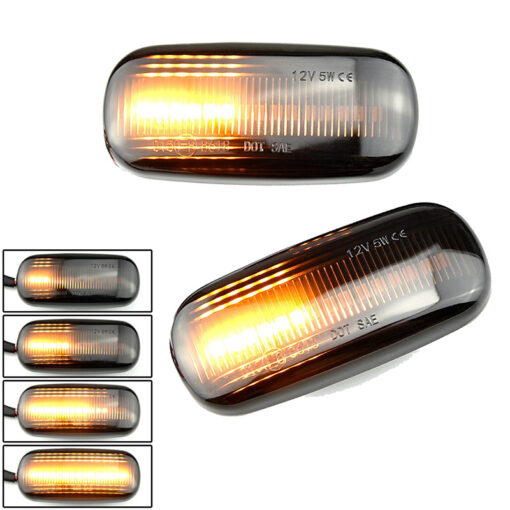 BMW LED Dynamic Zijknipperlichten Audi A3 S3 8P A4 S4 RS4 B6 B7 B8 A6 S6 RS6 C5 C7