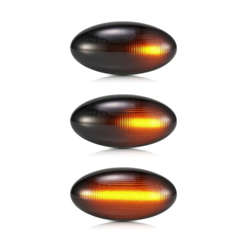 Citroen LED Dynamic Zijknipperlichten C1 C2 C3 C5 C6 Xsara Picasso Berlingo Jumpy Verlichting